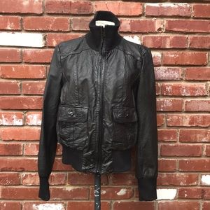 Levi's genuine leather bomber jacket size L